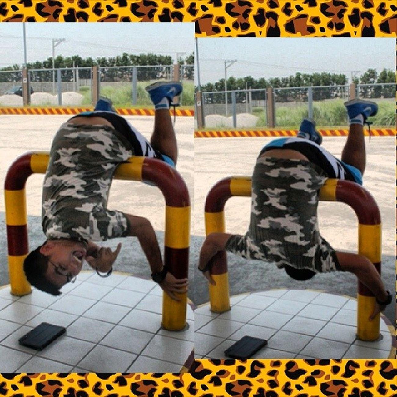 Because Break Dancer :p Walamagawa Napagtripan