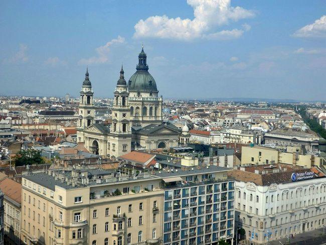Szent István-bazilika Budapest Urbanphotography Bazilika Cityscape Roofs Arialview Budapestview Eyeem Hungary Budapest Arial A Bird's Eye View