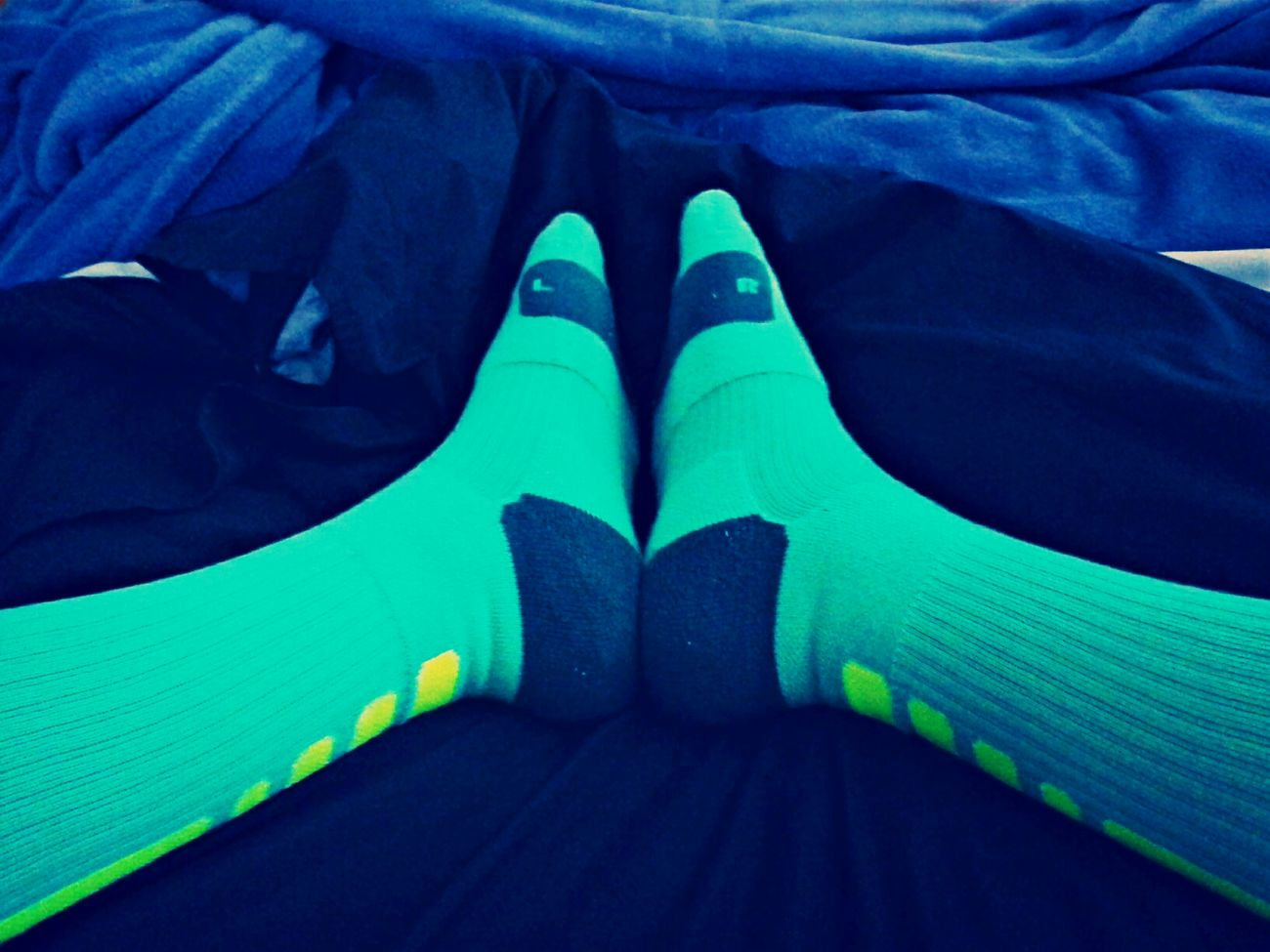 Chilling Nike Nike Elite Socks