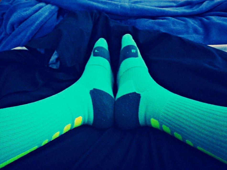 Chilling Nike Nike Elite Socks
