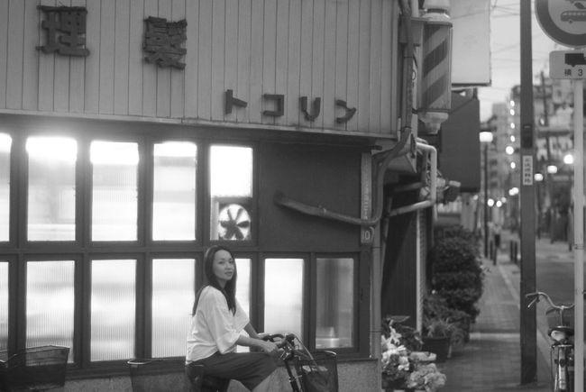 Japan Photography Enjoying Life 7月 Monochrome EyeEm Bnw Black And White オールドレンズ ママチャリ