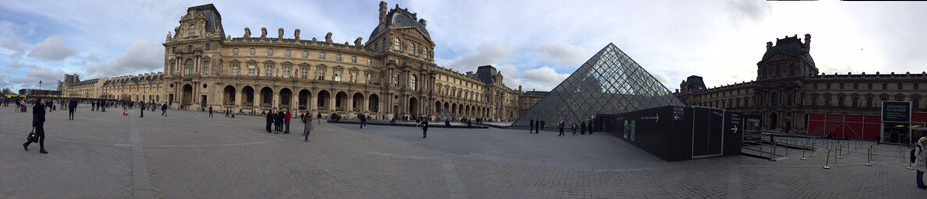 France Paris ❤ Musée De Luvre Paris Beautiful Paris Love Panaromic View Panaromic Photos