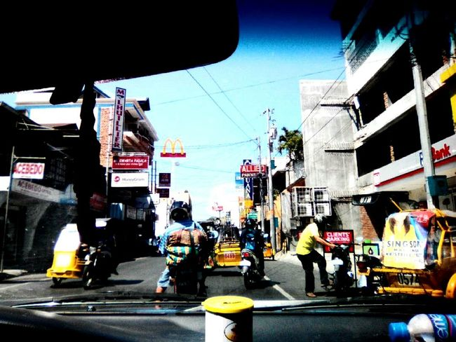 going back home from Launion Hi! Candon 😊