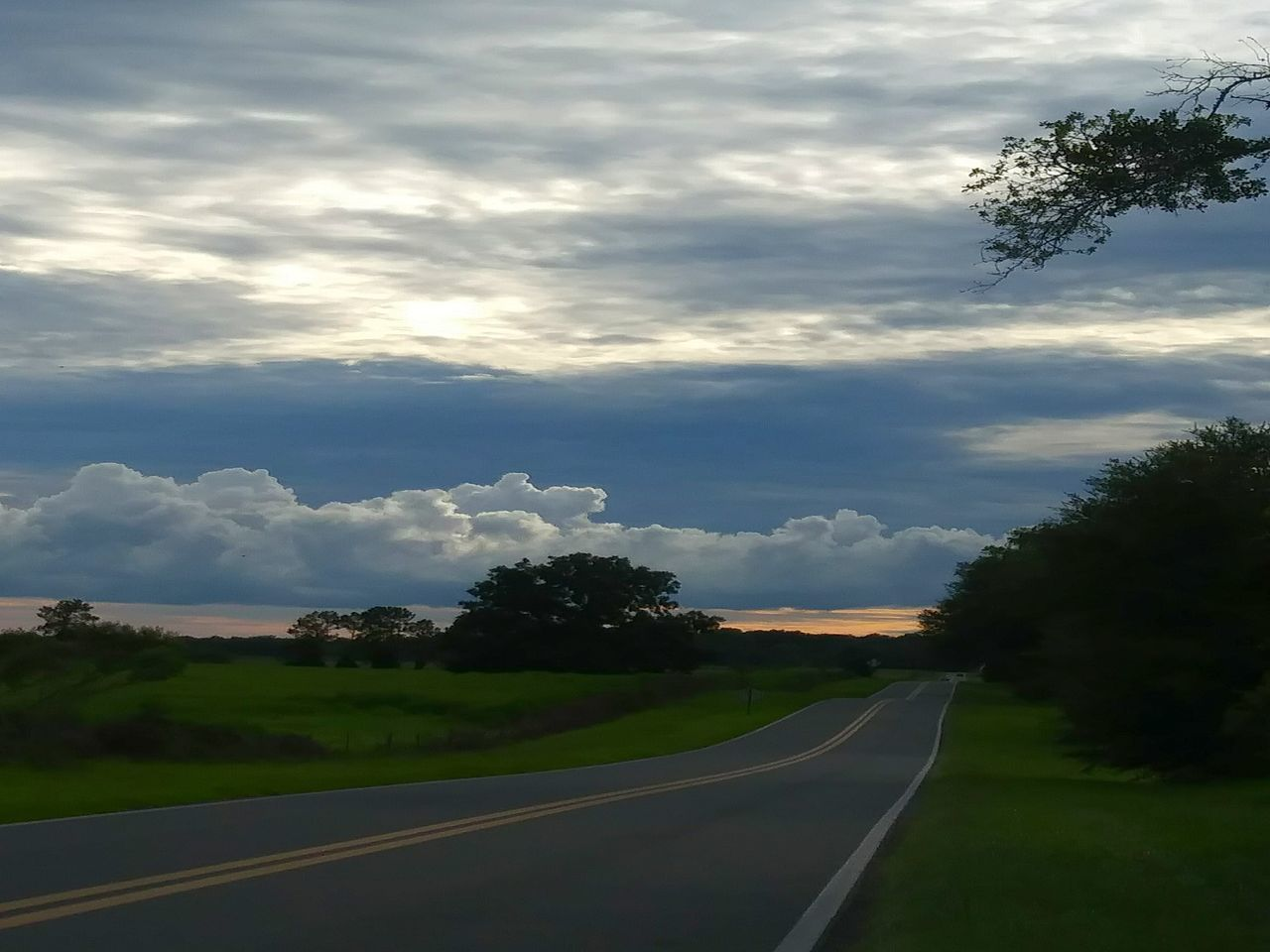 road, cloud - sky, sky, tree, the way forward, transportation, nature, outdoors, tranquil scene, no people, scenics, landscape, tranquility, day, beauty in nature