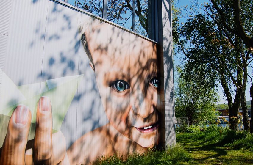 Can You Find The Hidden...? Streetart Mural Harbor Details Art Is Everywhere Linz/Austria From My Point Of View Beauty In Ordinary Things