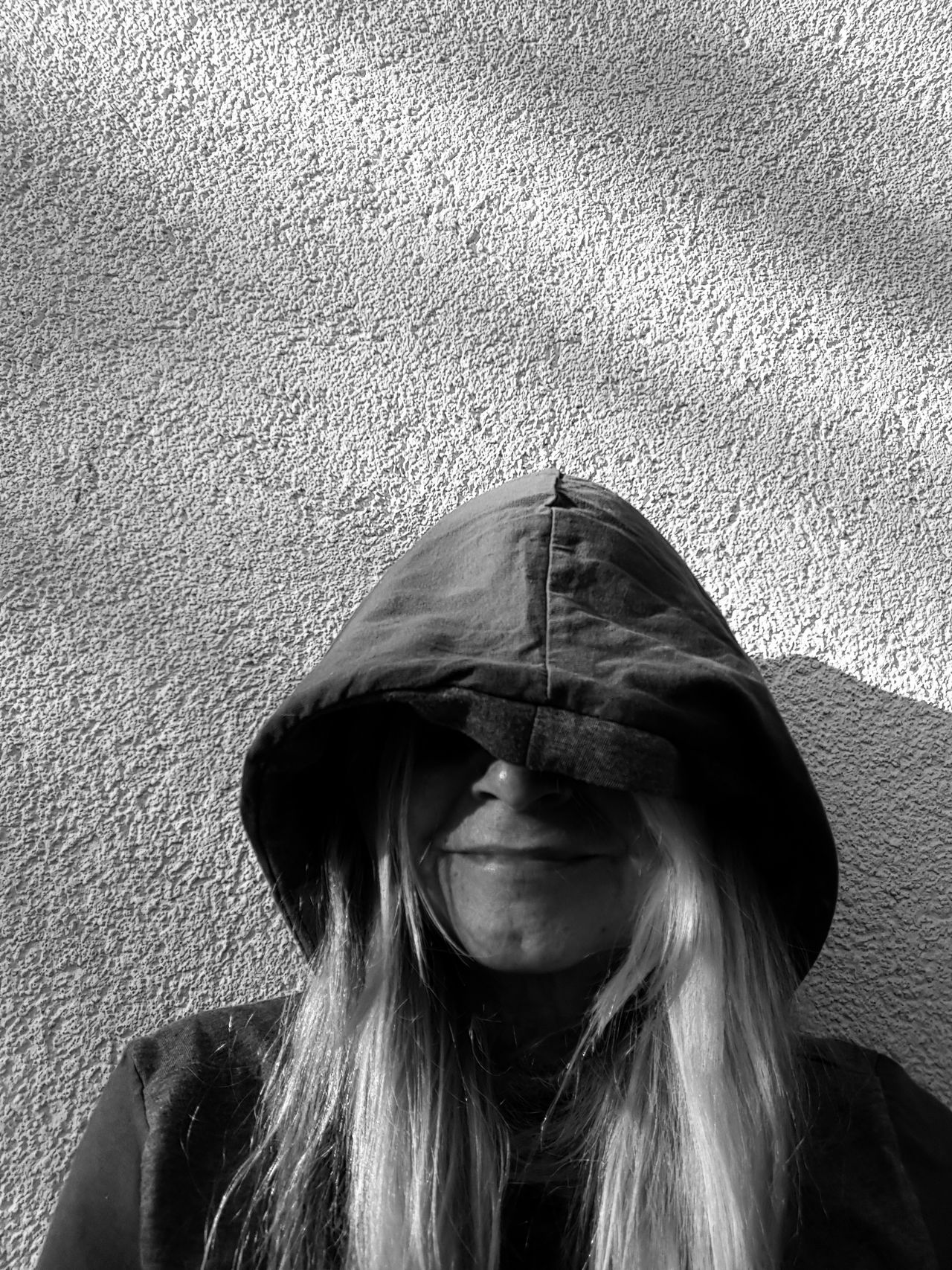 Woman Portrait Only Women One Woman Only Woman With Cap Black And White Day Outdoors Breathing Space The Week On EyeEm
