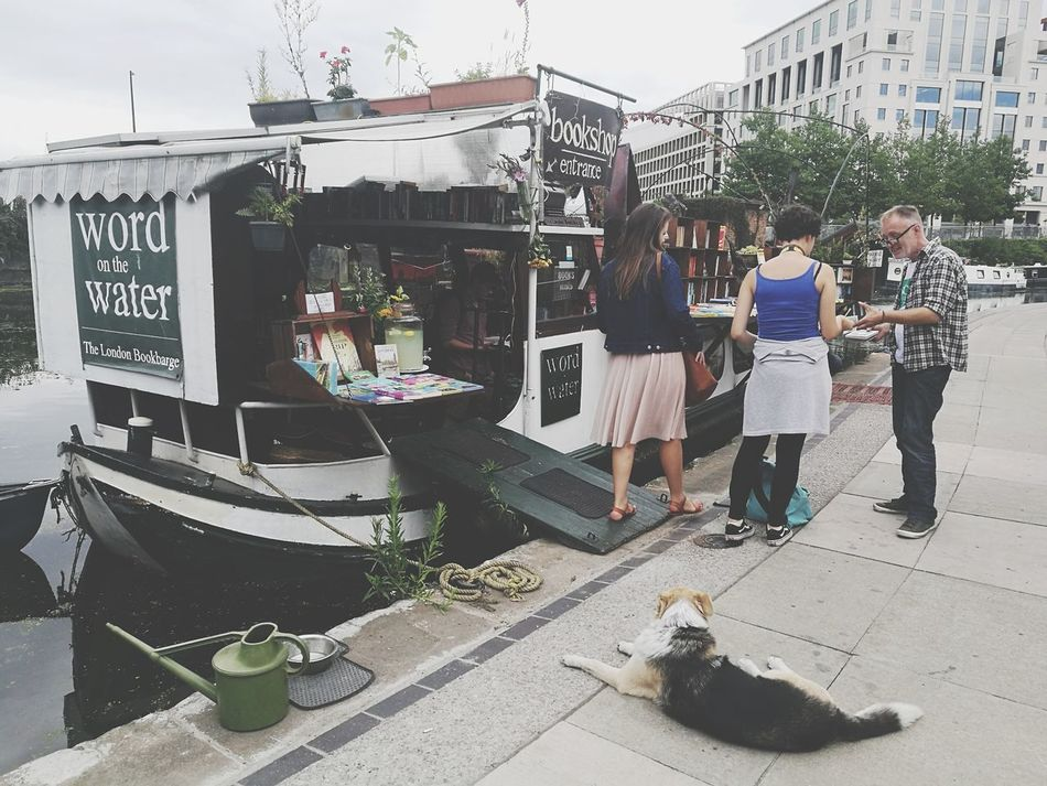 Market Day People Outdoors Real People City Lifestyles London City Sky Books Boat Bookshop EyeEm LOST IN London