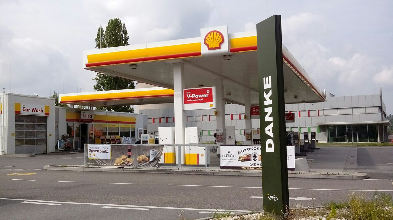 Leimen Tankstelle Industriegebiet
