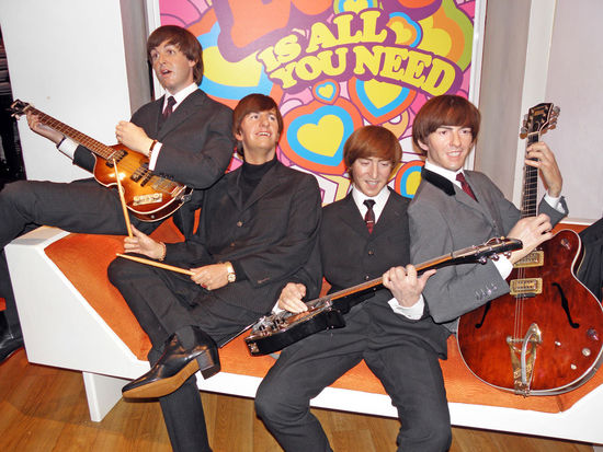 Music Brings Us Together,5,All You Need Is Love,The Beatles wax figures at Museum Madame Tussauds,London All You Need Is Love Entertainment Europe Great Britain Hapiness Idols Joy Life London Museum Madame Tussauds Music Music Brings Us Together Musician Performance Performers Show The Beatles Togetherness Unforgetable World Famous