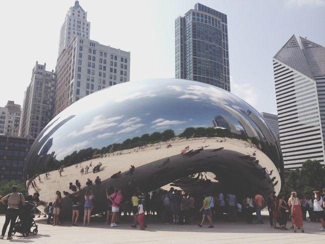 Reflection City Chicago Big Bean