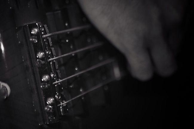 Selective Focus Blackandwhite Taking Photos Bass Bass Guitar Shadows & Lights Shadowplay Sanantonio Blackandwhite Photography Band Jaming  Music Rocking Out Making Music Jamin' Playing Music Enjoying Life