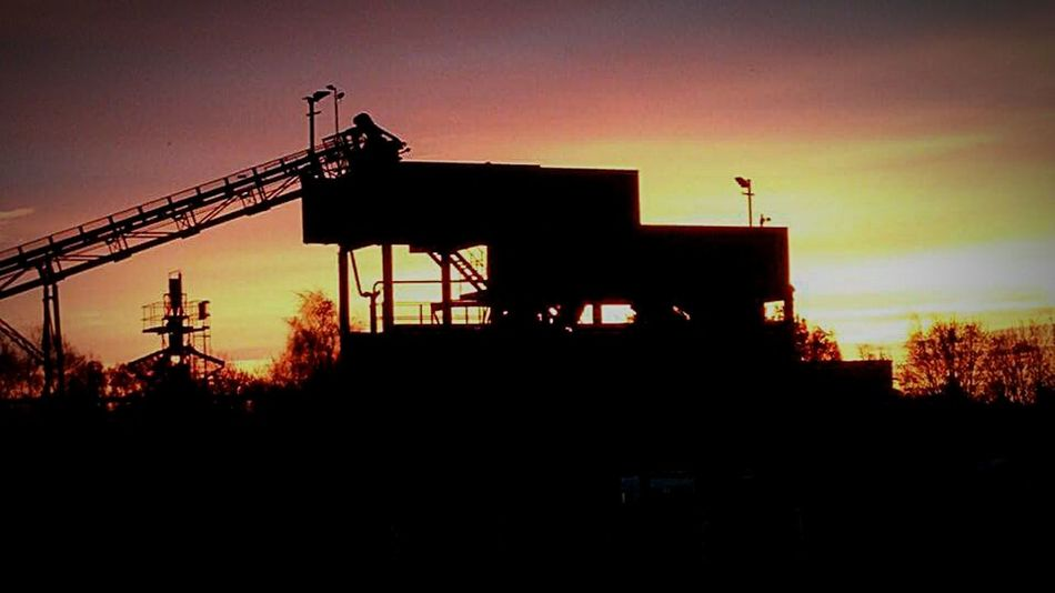 IPhoneography Morning Sky Industrial Stunning Sunrise Sunrise Barham Suffolk