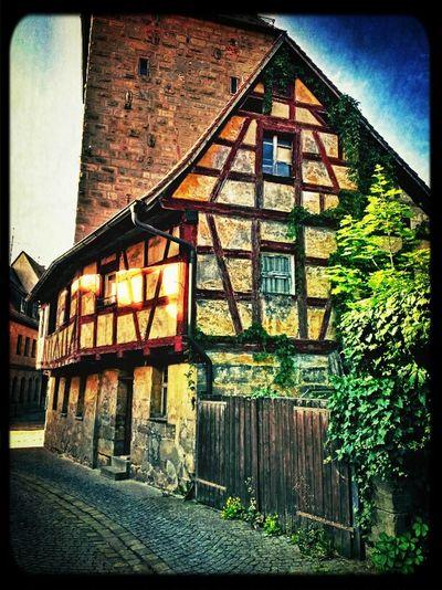 In Altdorf Architecture Vintage Old Town Altstadt Architektur Altdorf Bei Nürnberg Franken