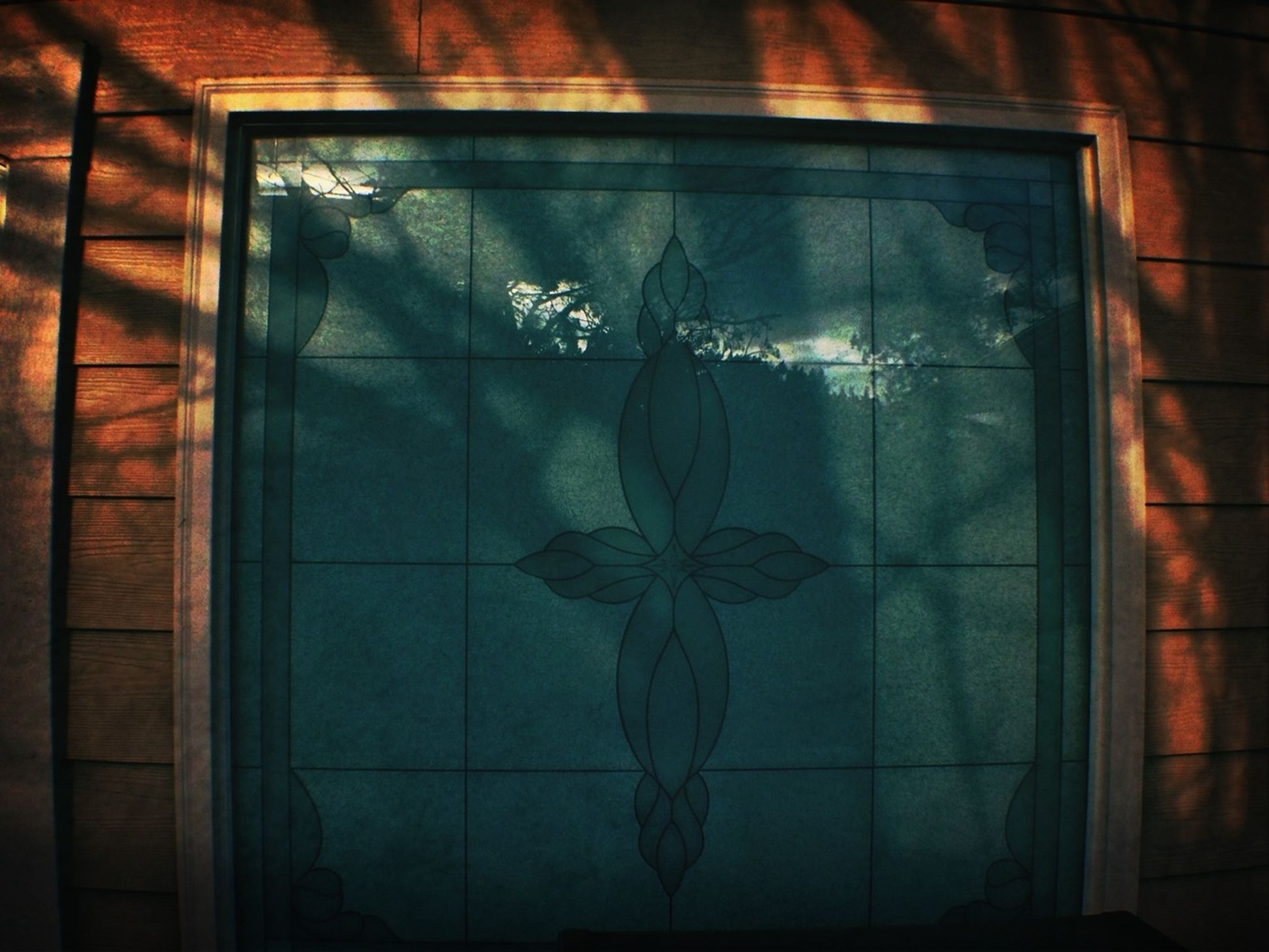 @LaRocka♠ I thought of you #stainedglass #shadow What Turns You On?