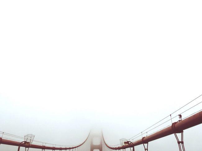 Fog Bridge Negative Space