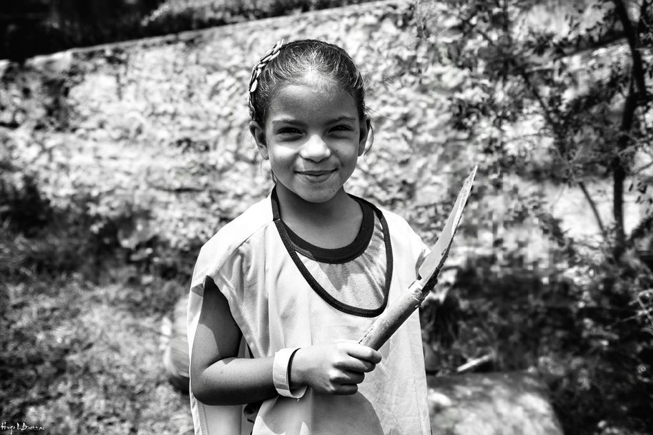 Child Happiness Smiling Fun Cheerful Outdoors Childhood Lifestyles Portrait Children Only One Person Happiness Freshness Children Photography Social Documentary Black And White Leisure Activity Social Photography Children Black & White People