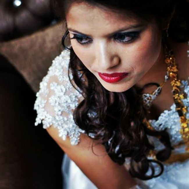 BridalLook Intense Weddingphotography Gorai - The Bride dressed to kill 😃