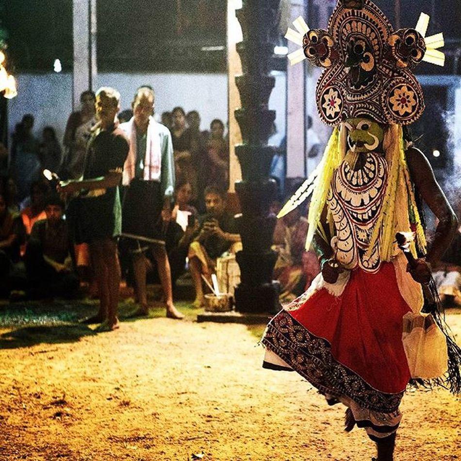 Padayani Kaalankolam @kadammanitta temple