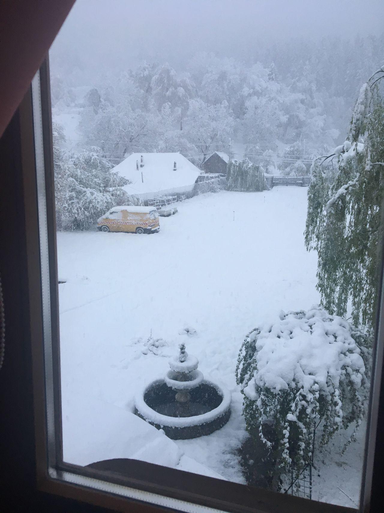 Winter Snow ❄ Countryside Winter Landscape Cold Temperature Late Winter