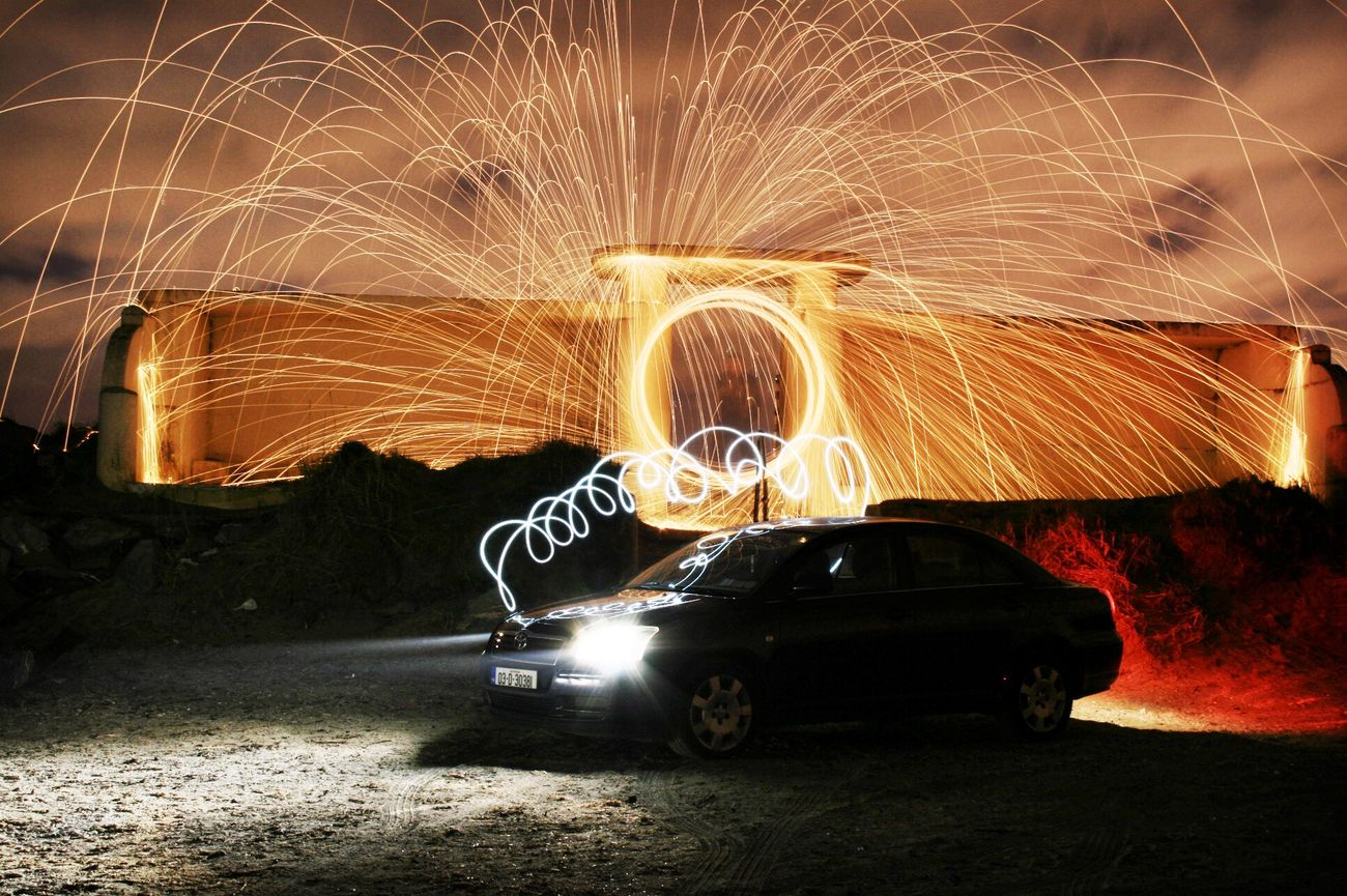 Steel wool photography Dublin