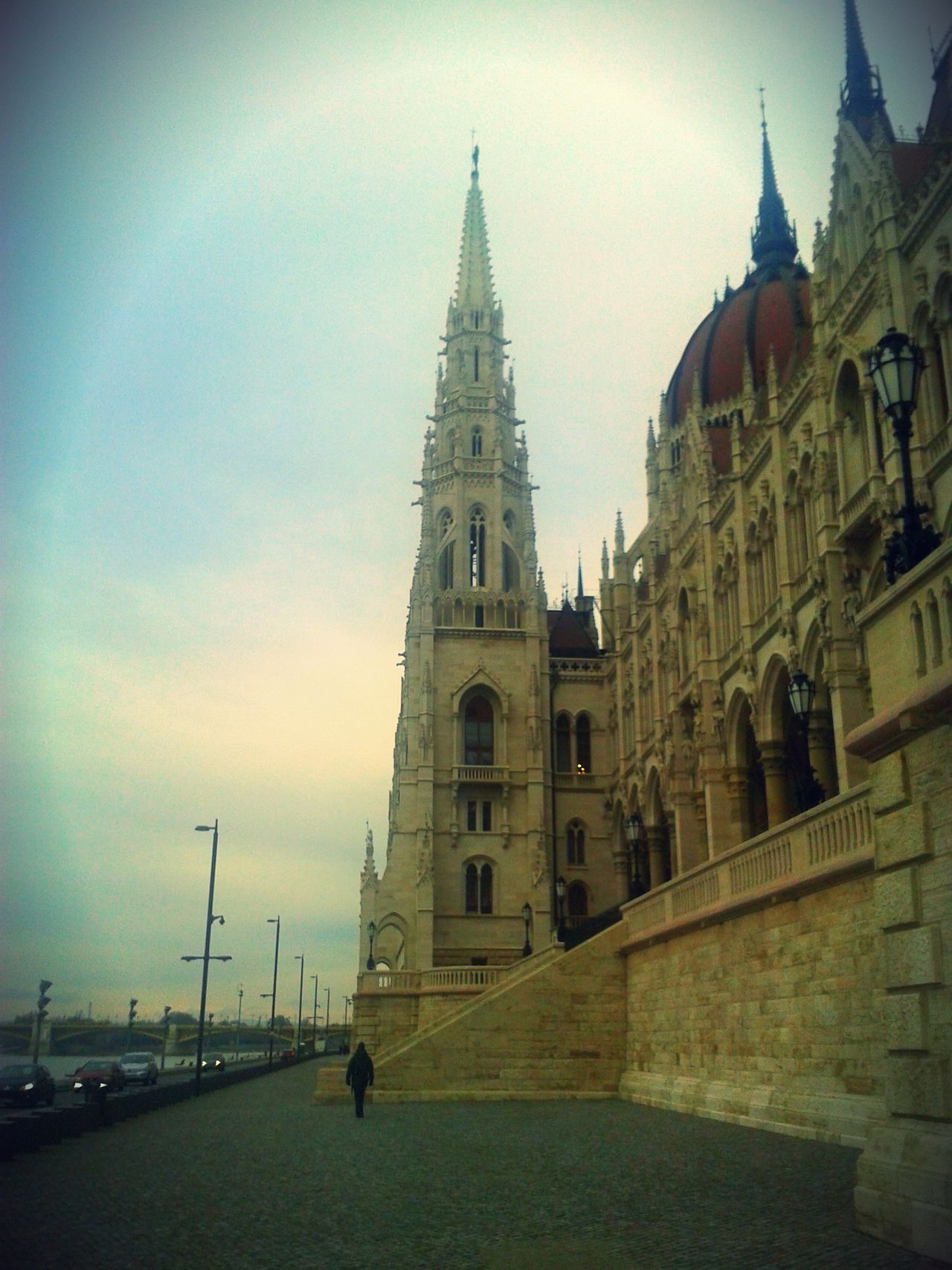 Architecture Budapest Building Exterior Built Structure History Hungary International Landmark Neoclassical Orszaghaz Outdoors Parlament Parliament Tower