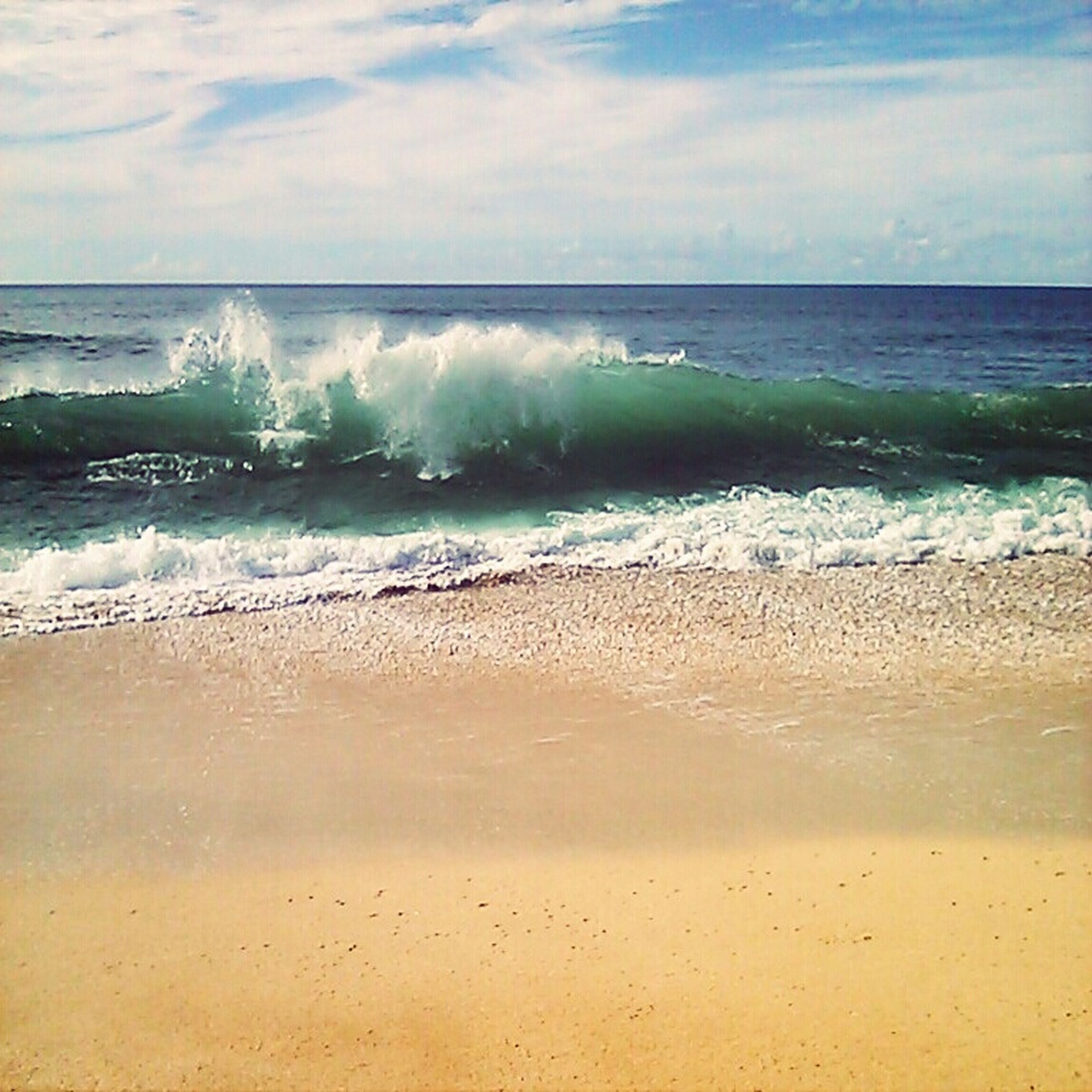 beach, sea, water, horizon over water, shore, sand, sky, scenics, wave, beauty in nature, tranquil scene, tranquility, surf, nature, cloud - sky, idyllic, cloud, tide, cloudy, motion