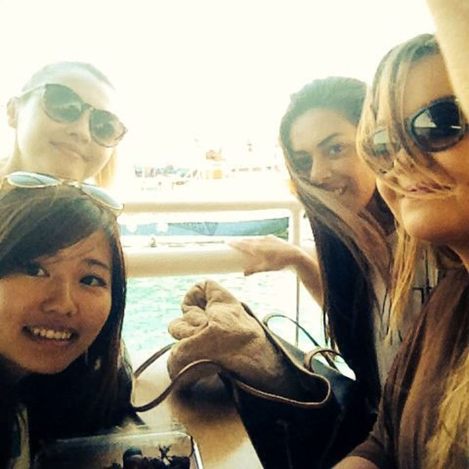 Going On A Boat Ride The Blue Lagoon, Comino Posers My Girls