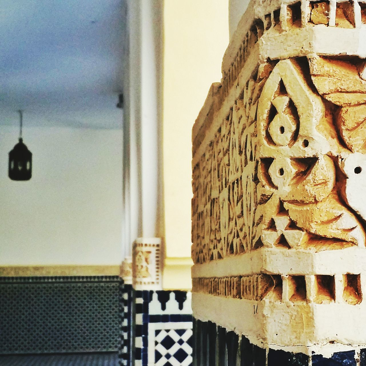 No People Close-up Architecture Day Outdoors Sky Arabic Architecture Arabic Art