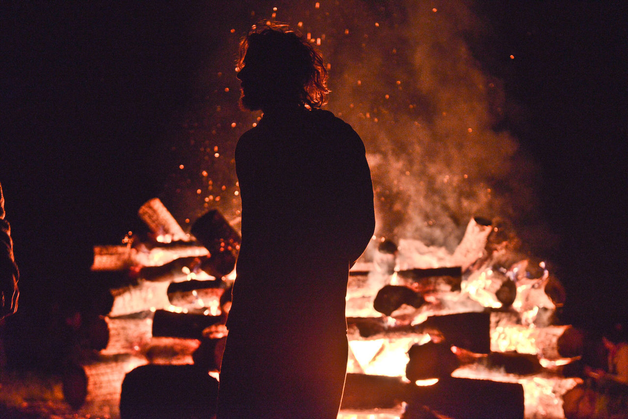 Band Bonfire Campfire Color Palette Colour Of Life Dark Festival Season Hot Summer Night Illuminated Leisure Activity Lifestyles Music Music Night Night Pivotal Ideas Sky Sparkling People And Places My Favorite Place Summer Night Music Brings Us Together Capturing Motion