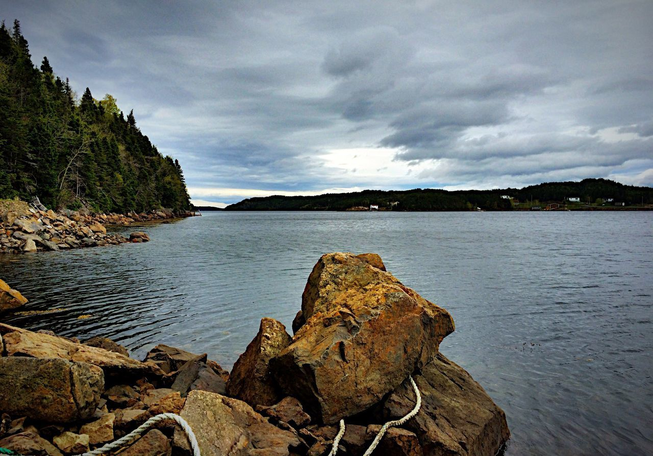SeaSide - iPhone 5S - Newfoundland - Canada The Great Outdoors - 2015 EyeEm Awards Landscape Sea And Sky Clouds And Sky Landscape_Collection Canada Sea Taking Photos Beautiful Sky Collection