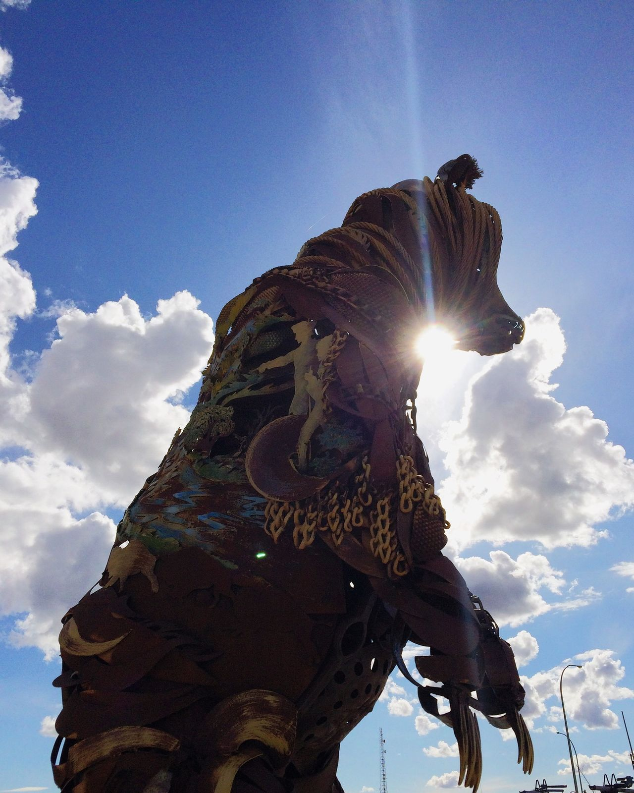 what a great piece Northdakota Sculpture