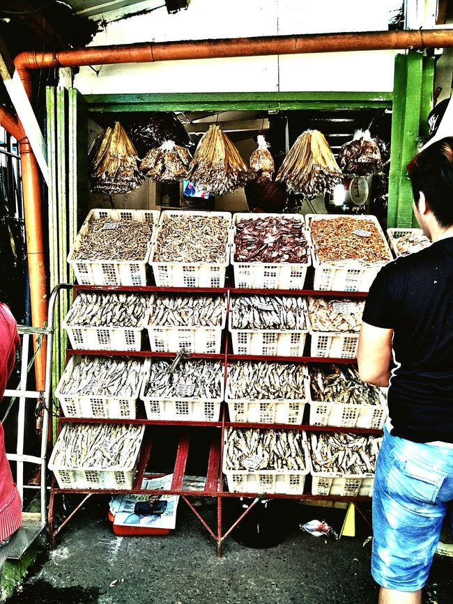 Marketplace Market Dried Seafoods More Fun In The Philippines  Street Photography Real Life Real People For people who live in a mountain city, dried seafood, seafoods, and vegetables from lowlands are pricey.