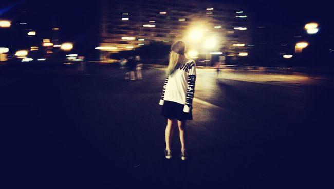 Walking Around Night