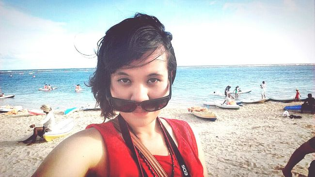 Bali Beach Blue Sky Holiday
