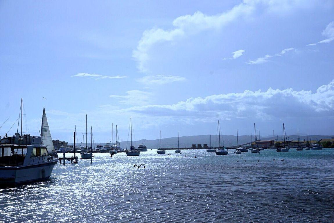 Sailboat Waterfront Caribbean Island Caribbean Life Ponce,Puerto Rico