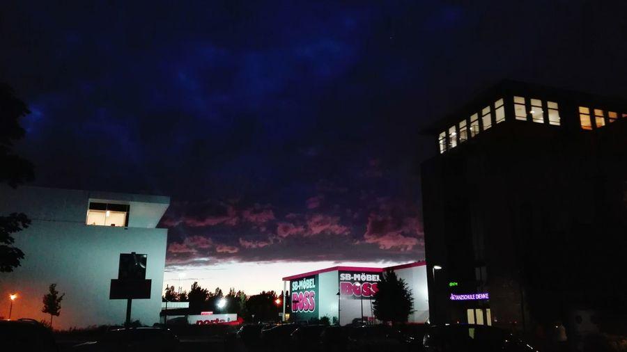 Sterncenter Wolken