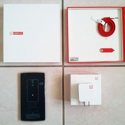 New phone! Oneplusone Opo NeverSettle