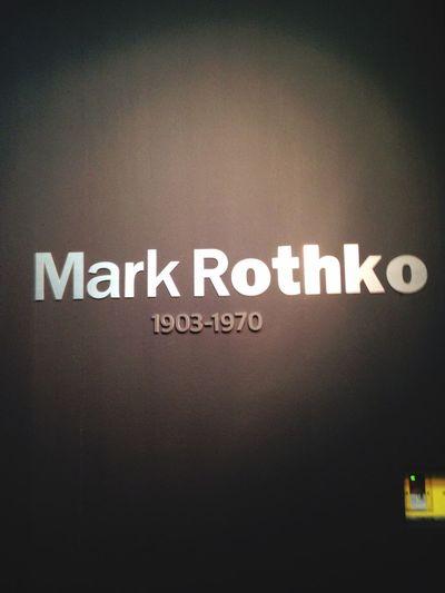 마크 로스코전. 예술의 전당