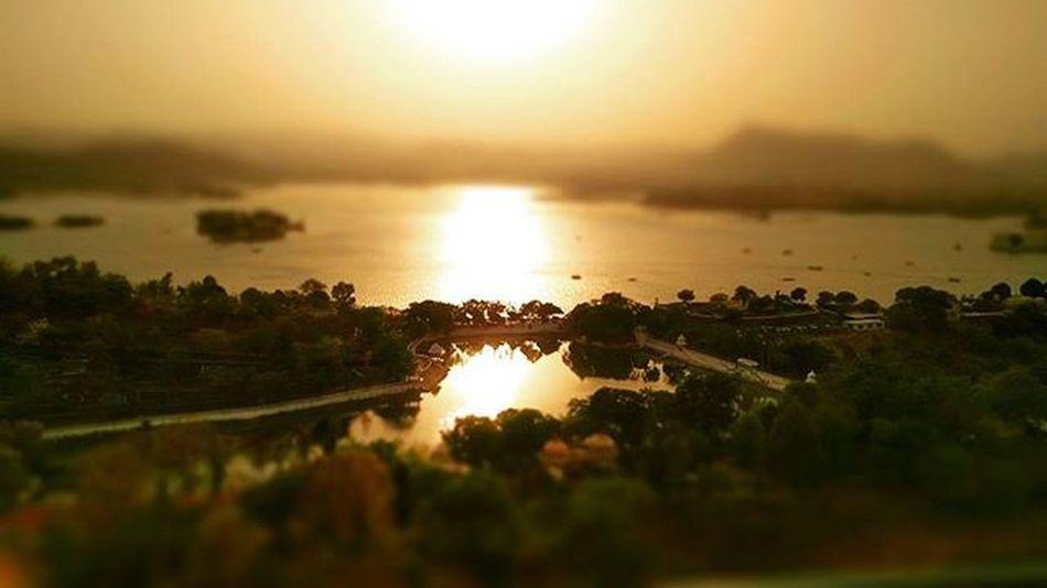 Cityoflakes Instagram Udaipur Sunset Purebliss Mountains