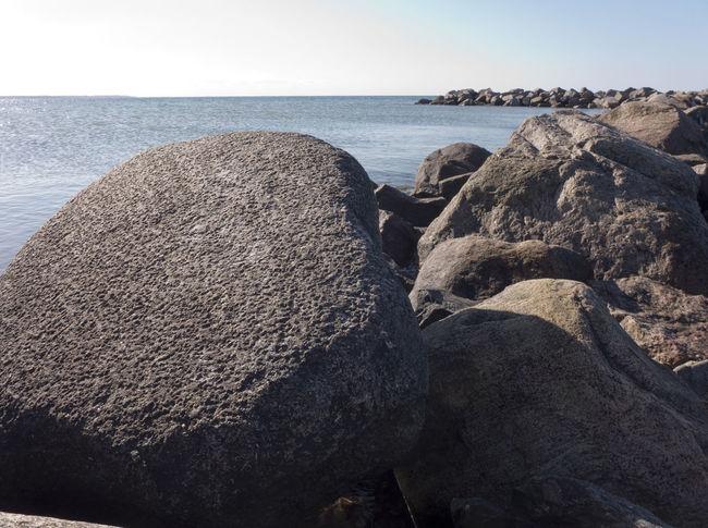 Baltic Sea Beach Beauty In Nature Coast Coastline Geology Groyne Heidkate Horizon Over Water Landscape No People Outdoors Pebble Pebble Beach Rock Rock - Object Scenics Sea Seaside Shore Summertime Tranquility Vacations Water Wischhafen