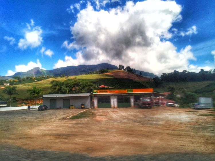 Rural area Sky Cloud - Sky Mountain Architecture Built Structure Landscape No People Day Mountain Range Nature Tree Building Exterior Scenics Blue Outdoors Beauty In Nature