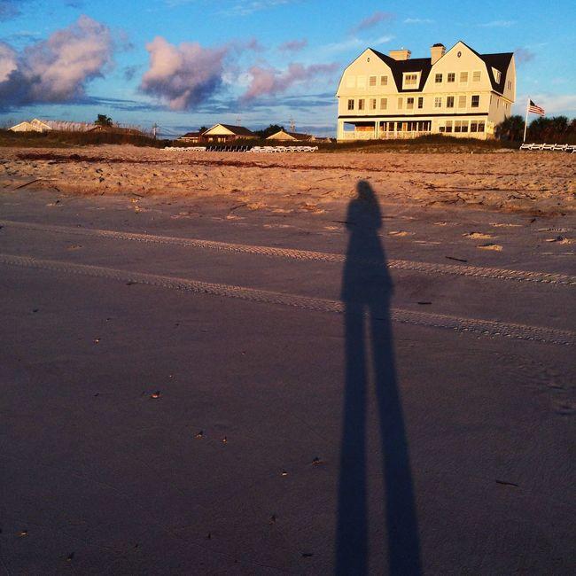 FernandinaBeach Florida Elizabeth Point Lodge TracyAWeiss Self Portrait Sandytoesstudio Amelia Island Beachlife Long Shadows Summer