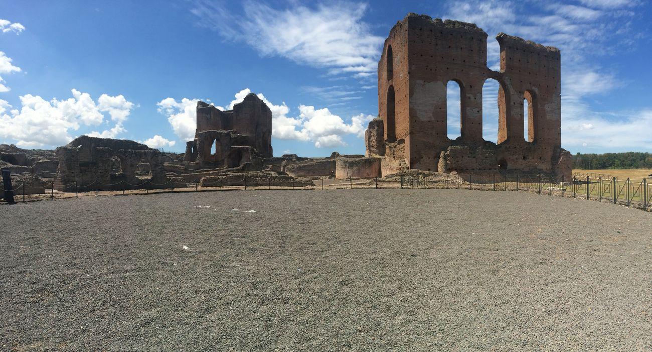 Roma Discovering Great Works Villa Dei Quintili Historical Building Architecture Old Buildings Rome Appia Antica