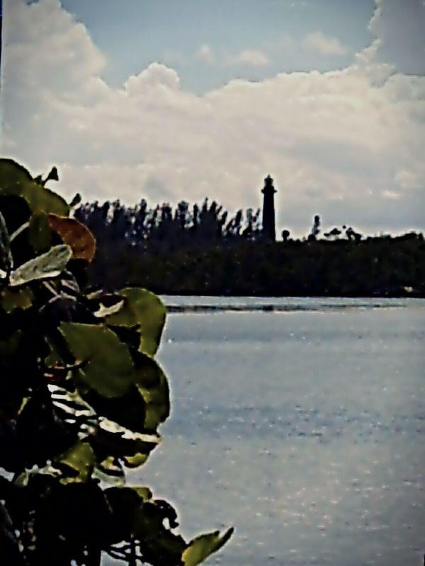 Lighthouse Silhouette Lighthouses Jupiter Lighthouse Jupiter Florida