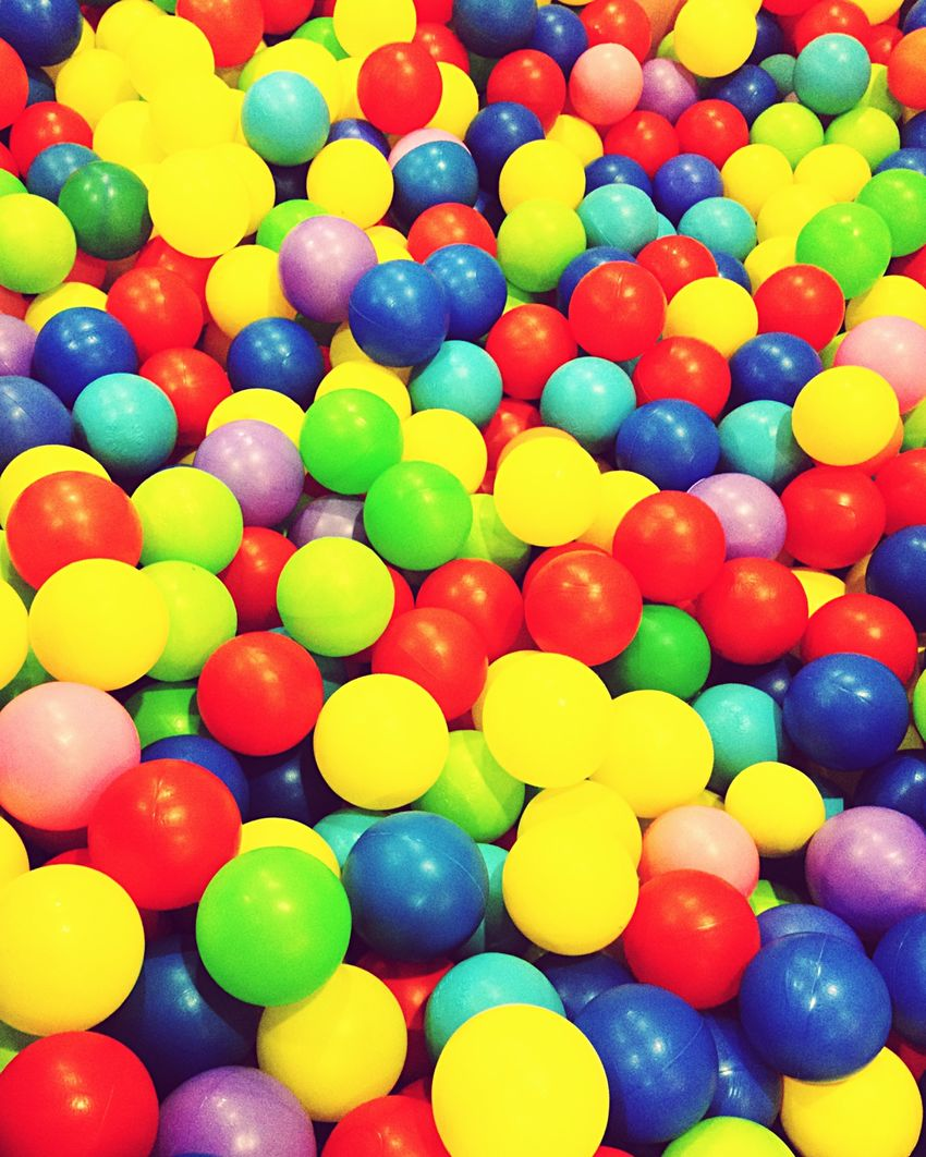 Colorful balls Colors Ball Kalabalik