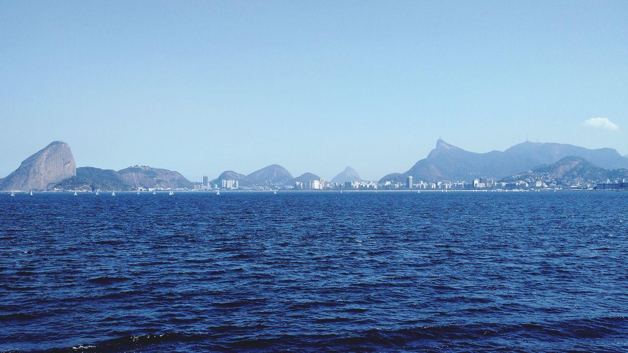 Rio De Janeiro, Brazil Baía De Guanabara Sea And Sky The Great Outdoors With Adobe