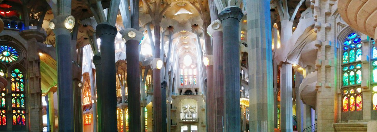 Sagradafamilia Sagrada Familia Barcelona Gaudi SPAIN Spanien Kirche Church Kathedrale Cathedral