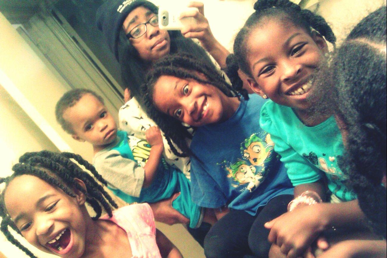 the black children -.-