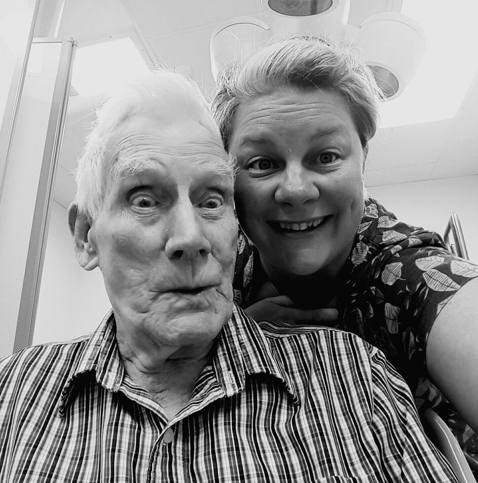 Love My Grandad Other Man In My Life modern technophobe Just Chilling