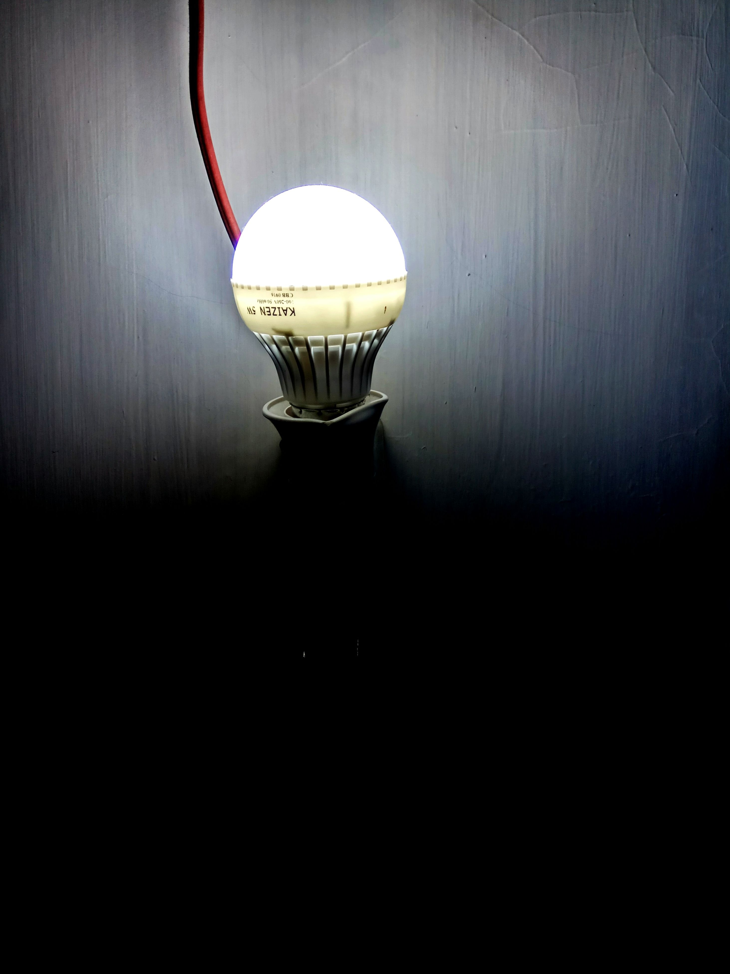 lighting equipment, electricity, illuminated, light bulb, no people, indoors, electric lamp, electric light, close-up, technology, table, filament, cable
